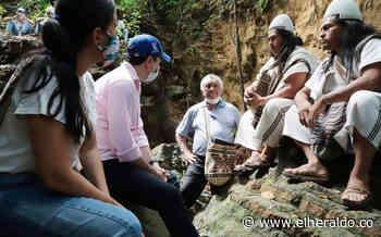 Buscan potencializar atractivo turístico de 'Piedra Pintada' en Tubará - EL HERALDO