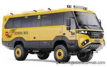 Un autobus tout-terrain qui ne craint rien!