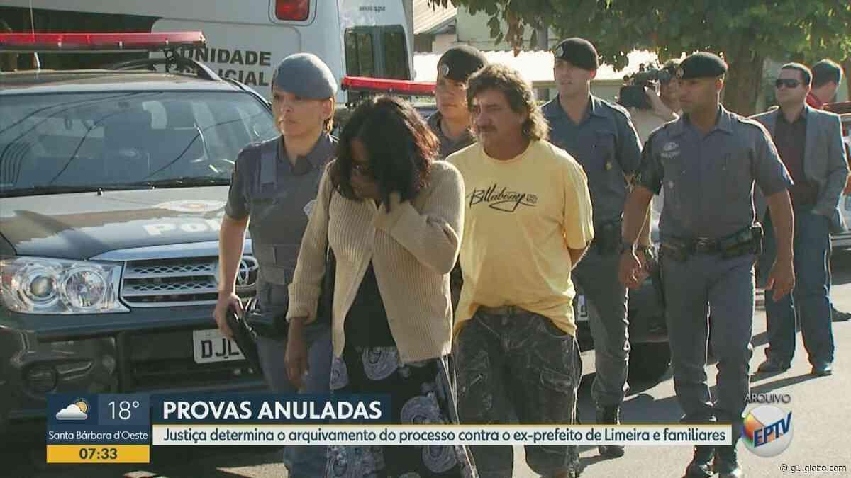 Justiça Federal arquiva processo contra ex-prefeito de Limeira e empresários por corrupção - G1