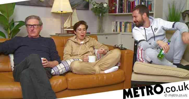 Line of Duty's Adrian Dunbar pokes fun at Nigella Lawson on Celebrity Gogglebox