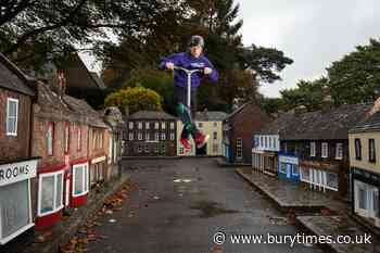 In Pictures: Scooter riders hit heights in miniature town - Bury Times