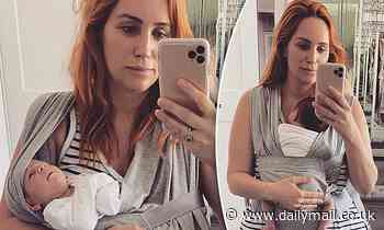 Married At First Sight's Jules Robinson shares her struggle to get baby Oliver into a carrier