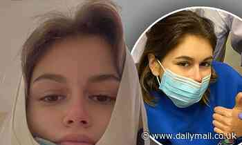 Kaia Gerber urges fans to vote after her dental surgery: 'We don't need wisdom teeth to vote wisely'