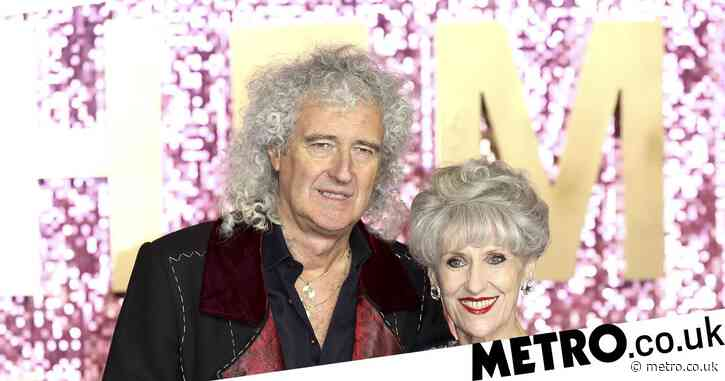 Brian May thanks wife Anita Dobson for 'saving his life' following heart attack
