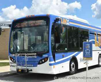 New Midland-Orillia bus route won't stop in Port McNicoll - OrilliaMatters