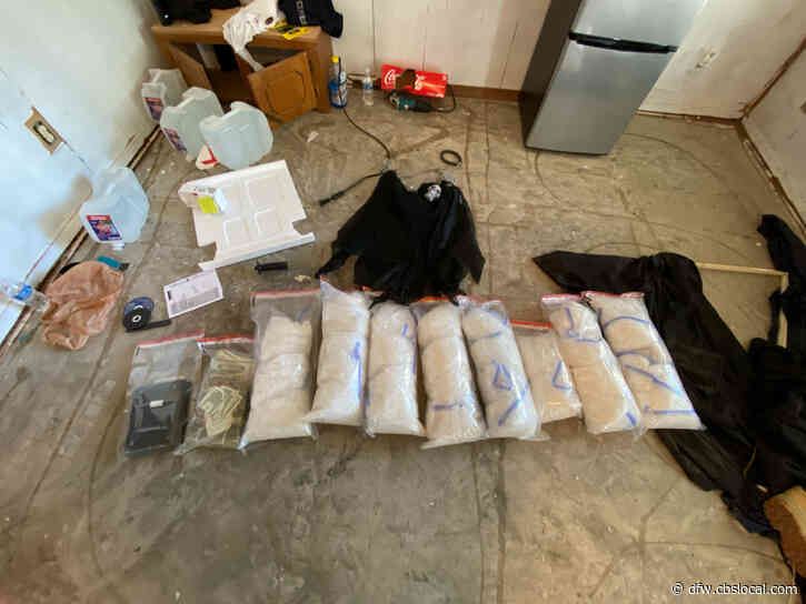 Nearly $500K In Methamphetamine Seized From Kaufman County Home