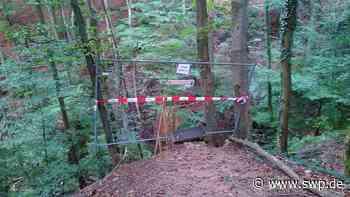 Limes-Wanderweg in Mainhardt: Stufen könnten brechen - SWP