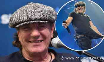 AC/DC singer Brian Johnson reveals how his mother was a resistance fighter