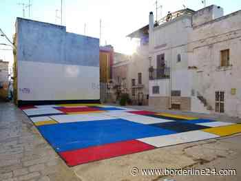 """Bari, l'arte per rigenerare il centro storico di Carbonara: """"Riempiamo i vuoti con i colori"""" - Borderline24 - Il giornale di Bari"""