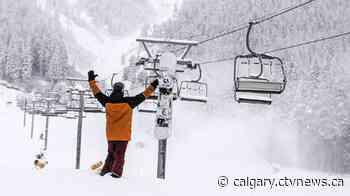 Mount Norquay celebrates earliest start to season following recent dump of snow - CTV Toronto