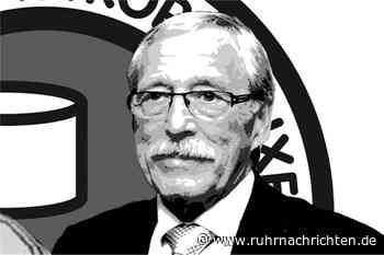 Der Schweriner KC trauert um seinen Ehrenvorsitzenden Otto Halberstadt - Ruhr Nachrichten