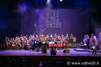 Festival della canzone friulana. 24 ottobre al Teatro Nuovo Giovanni da Udine - Udine20 2020
