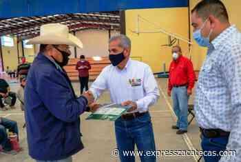 Pagan seguro catastrófico a 129 productores de Jalpa - Noticias - Express Zacatecas