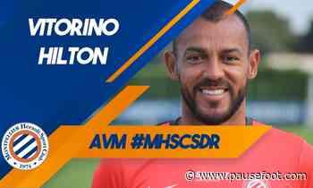 Vitorino Hilton avant MHSC vs SDR - Pause Foot
