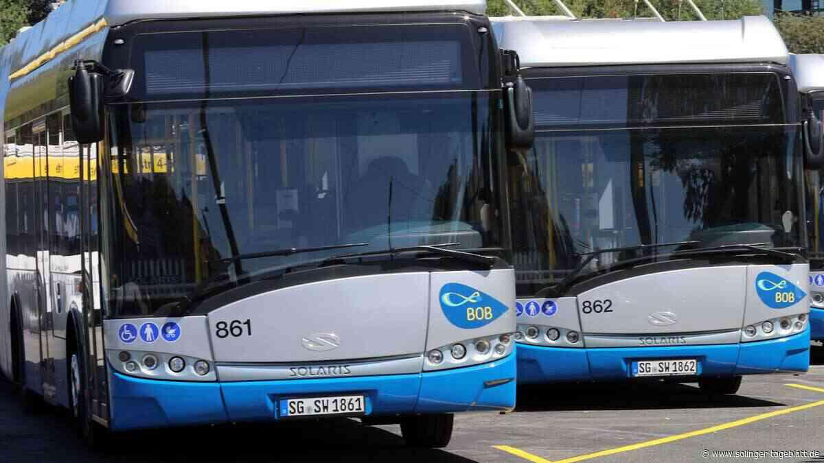 Erste BOB-Solobusse kommen Ende 2021