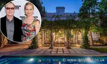 Bridget Fonda and husband Danny Elfman list neighboring LA mansions for a combined $14.6million