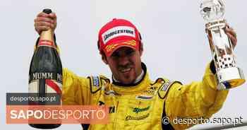 Já houve um português num pódio de Fórmula 1: Tiago Monteiro foi 3.º na corrida mais estranha da F1 - SAPO Desporto