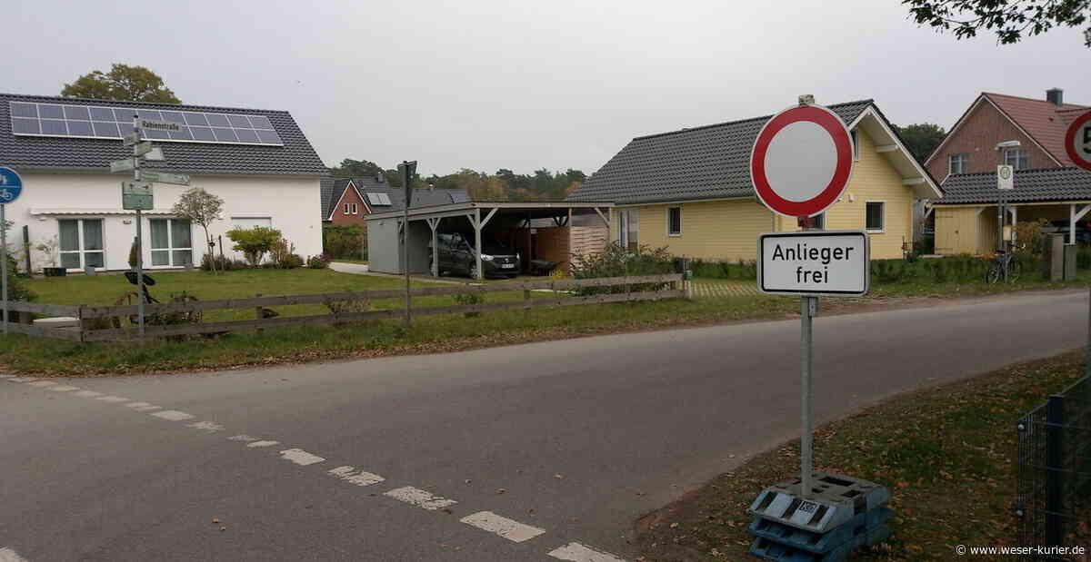 Sperrung sorgt für Verkehrschaos - WESER-KURIER