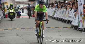 Álex Gil llegó primero a Caramanta y sigue líder en Vuelta a Antioquia - El Colombiano
