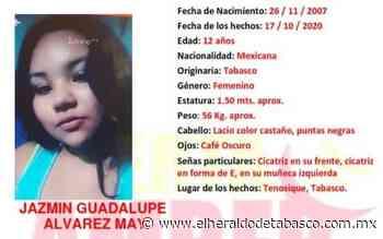 Denuncian desaparición de menor en Tenosique - El Heraldo de Tabasco