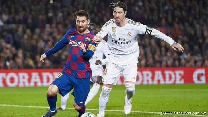 Dónde ver EN VIVO Barcelona vs Real Madrid 2020-2021