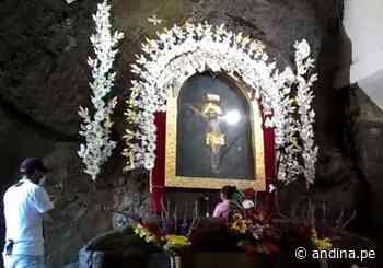 El emblemático Santuario del Señor de Muruhuay de Tarma reabre sus puertas - Agencia Andina
