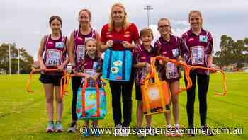 Raymond Terrace Little Athletics receives $2900 grant from Coles community fund - portstephensexaminer.com.au