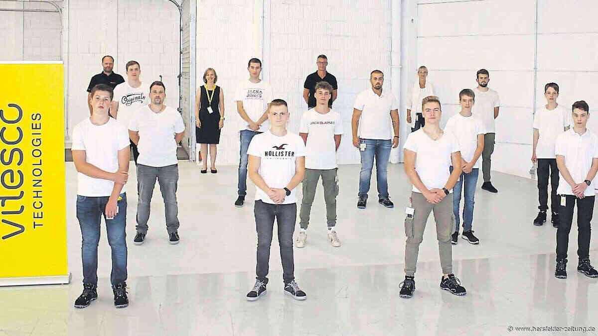 Ausbildungsstart bei Vitesco Technologies Bebra - Hersfelder Zeitung