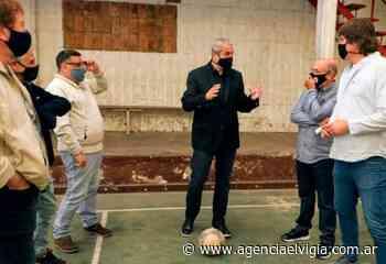 Ferraresi visitó el club El Fortín en Villa Aurora, Gerli - Agencia El Vigía