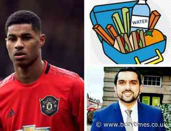 Council backs Marcus Rashford packed lunch campaign in Bury with £15 vouchers