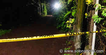 Mecánico asesinado colonia de Jucuapa, Usulután - Solo Noticias