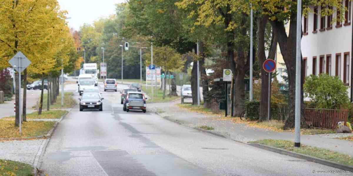 Busse werden in Rathenow um die Genthiner Straße herum geleitet - Märkische Allgemeine Zeitung