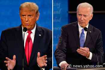 Column: Sleepy Joe? In final debate, Biden navigated a minefield of Trump disruptions