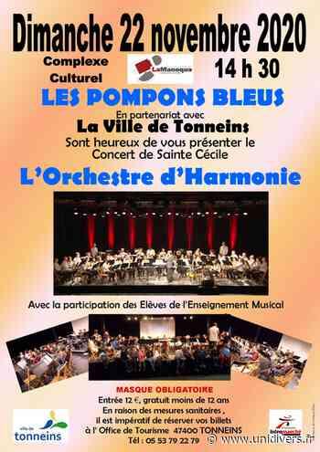 Concert de la Sainte-Cécile avec les Pompons Bleus dimanche 22 novembre 2020 - Unidivers