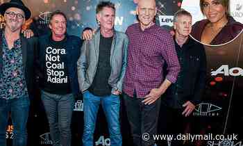Midnight Oil release their first album in 18 years