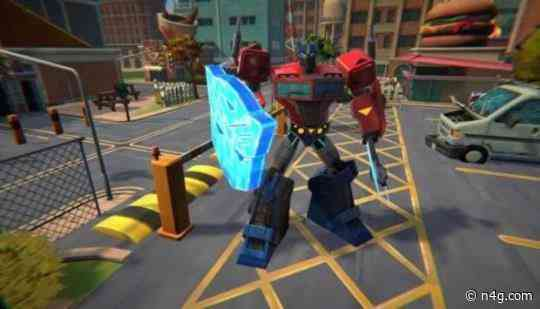 Team up and roll out with Transformers: Battlegrounds on Xbox One, PS4, Switch and PC