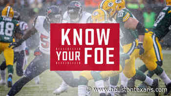 Houston Texans Analyst John Harris breaks down the Week 7 Green Bay Packers. - HoustonTexans.com