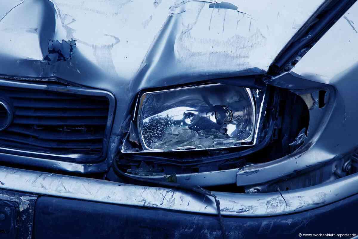 Unfall in Großfischlingen: Verkehrsunfall verursacht Sachschaden - Edenkoben - Wochenblatt-Reporter