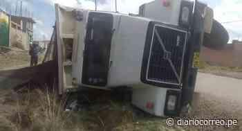 Puno: Volquete se accidenta en el distrito de San Miguel - Diario Correo