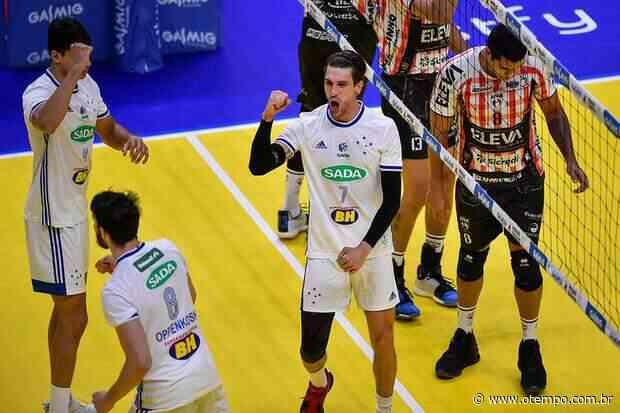 Super Vôlei: Sada Cruzeiro passa pelo Blumenau e mira rival Taubaté na decisão - O Tempo