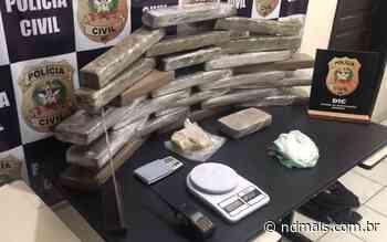 VÍDEO: Policiais encontram quase 30 quilos de maconha em Blumenau - ND - Notícias