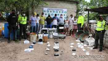 Desmantelan laboratorio para procesar cocaína en Polonuevo, Atlántico - Seguimiento.co