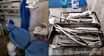 Tabalosos: habría atendido como odontólogo sin tener título profesional - viatelevision.pe