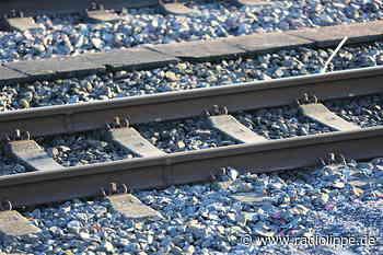 Bis Ende kommender Woche kein Zugverkehr zwischen Detmold undh Altenbeken - Radio Lippe