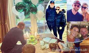 Coleen Rooney gives a glimpse of husband Wayne's 35th birthday celebrations