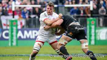 Jordi Murphy returns to make first appearance of the season for Ulster against Dragons