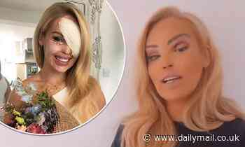 Katie Piper shares abhorrent messages from trolls after her eye surgery