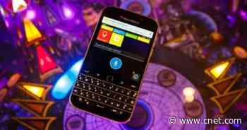 BlackBerry returns from the dead (again) video     - CNET