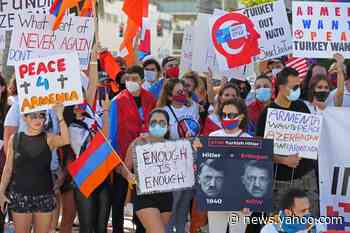 Armenian-Americans march in Miami Beach to condemn Azerbaijan, demand Artsakh liberty