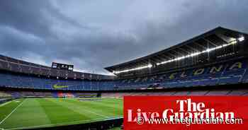 Barcelona v Real Madrid: La Liga – live!